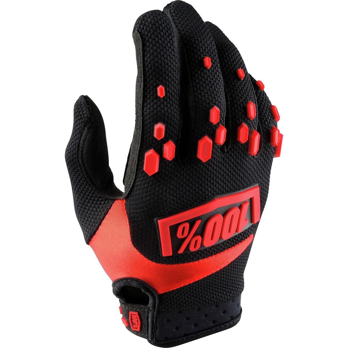 100% Unisex-Adult's Speedlab (10004-013-13)''AIRMATIC Glove Black/Red - X-Large