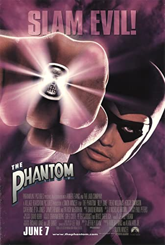 "The Phantom 1996 Authentic 27"" x 41"" Original Movie Poster Rolled ..."
