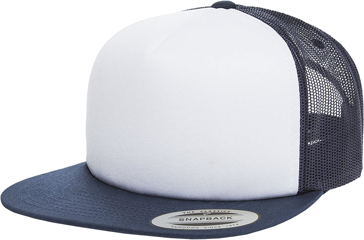Urban Classics Foam Trucker with White Front NVY//wht//NVY one Size