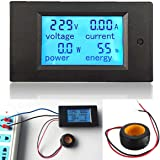 ELEGIANT AC 100A Digital LED Wechselstromzähler Stromzähler Power Voltmeter Amperemeter