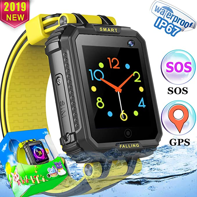 Amazon.com: Kids Smart Watch Phone GPS Tracker Watch for ...