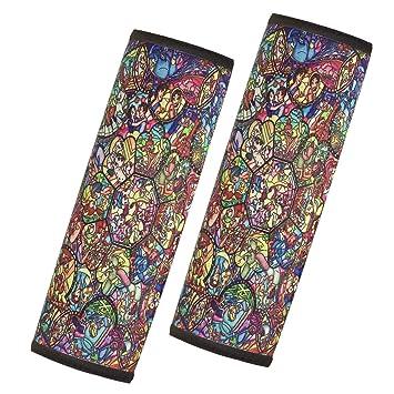 Prime Seat Belt Shoulder Pad 2 Pack Disney All Characters Pu Leather Car Seat Belt Strap Covers Protect Spiritservingveterans Wood Chair Design Ideas Spiritservingveteransorg
