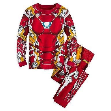 7091e7fde8 Marvel Iron Man Costume PJ PALS Pajamas for Boys - Captain America  Civil  War Size