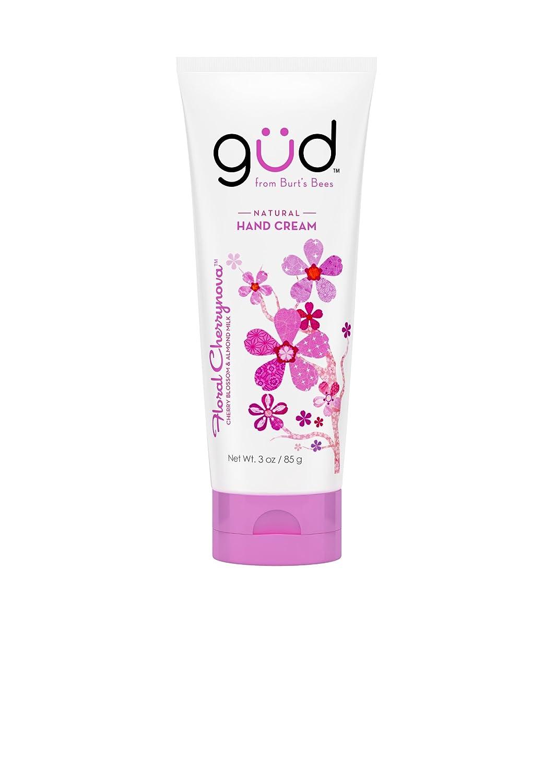 Gud Floral Cherrynova Natural Hand Cream, 3 Ounces