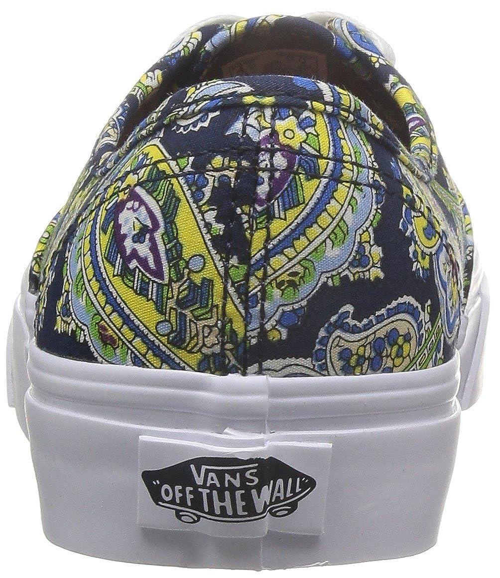55d314ff5a Vans Authentic + (Paisley) Dress Blues-UK 4.5 EU 37.0  Amazon.co.uk  Shoes    Bags
