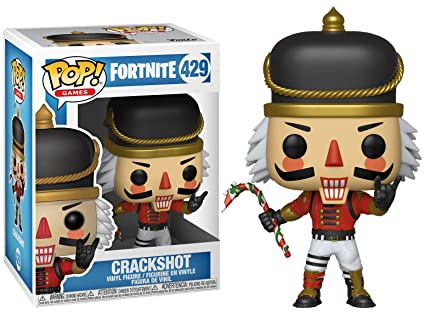 36e924858af Image Unavailable. Image not available for. Color  Funko Pop Games  Fortnite  - Crackshot Collectible Figure ...
