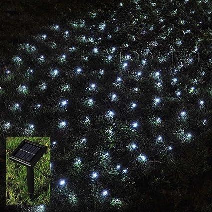 1mx2m solar net led string lights christmasetopxizu 328ft x 656ft 120led 8
