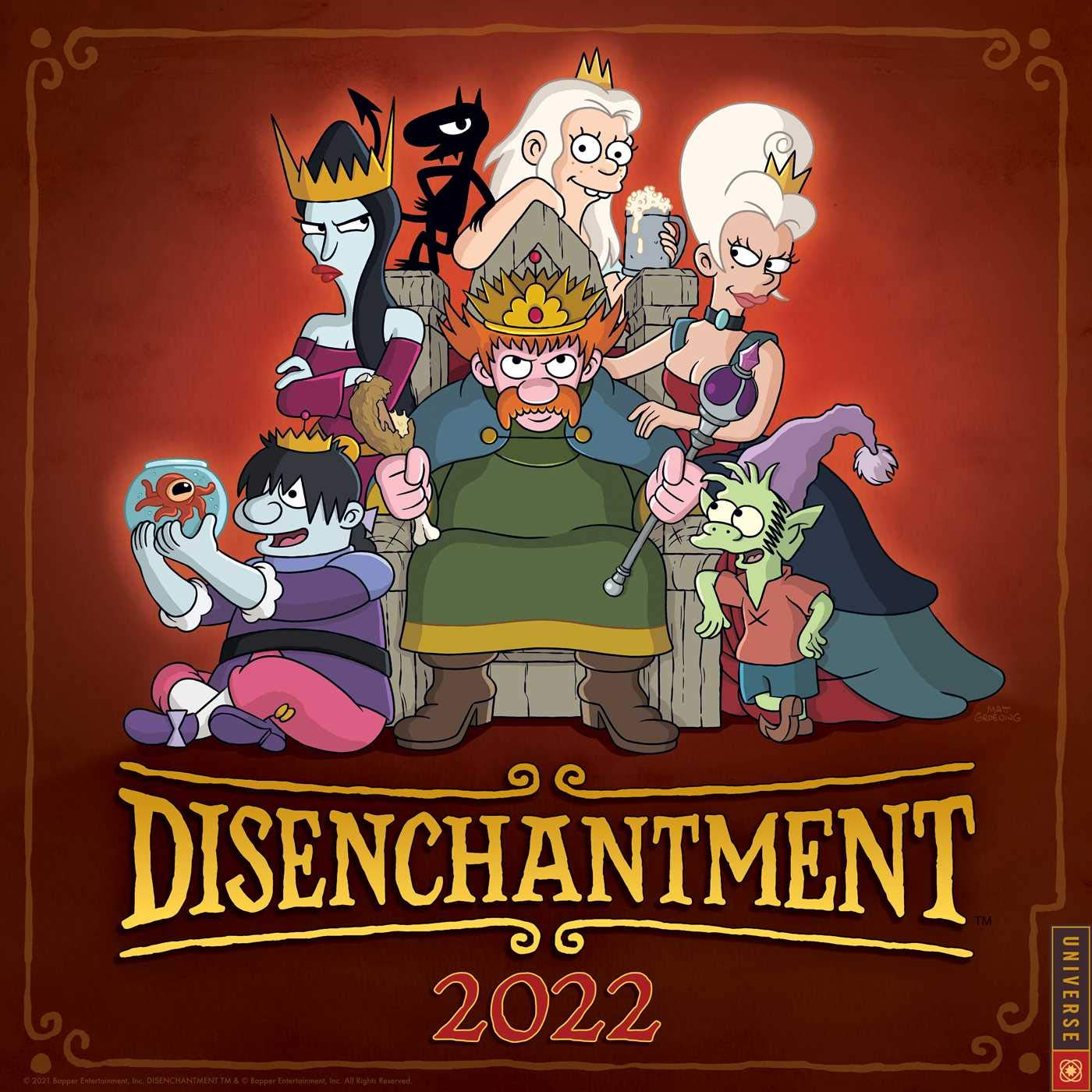 Calendar Creator 2022.Buy Disenchantment 2022 Wall Calendar Book Online At Low Prices In India Disenchantment 2022 Wall Calendar Reviews Ratings Amazon In