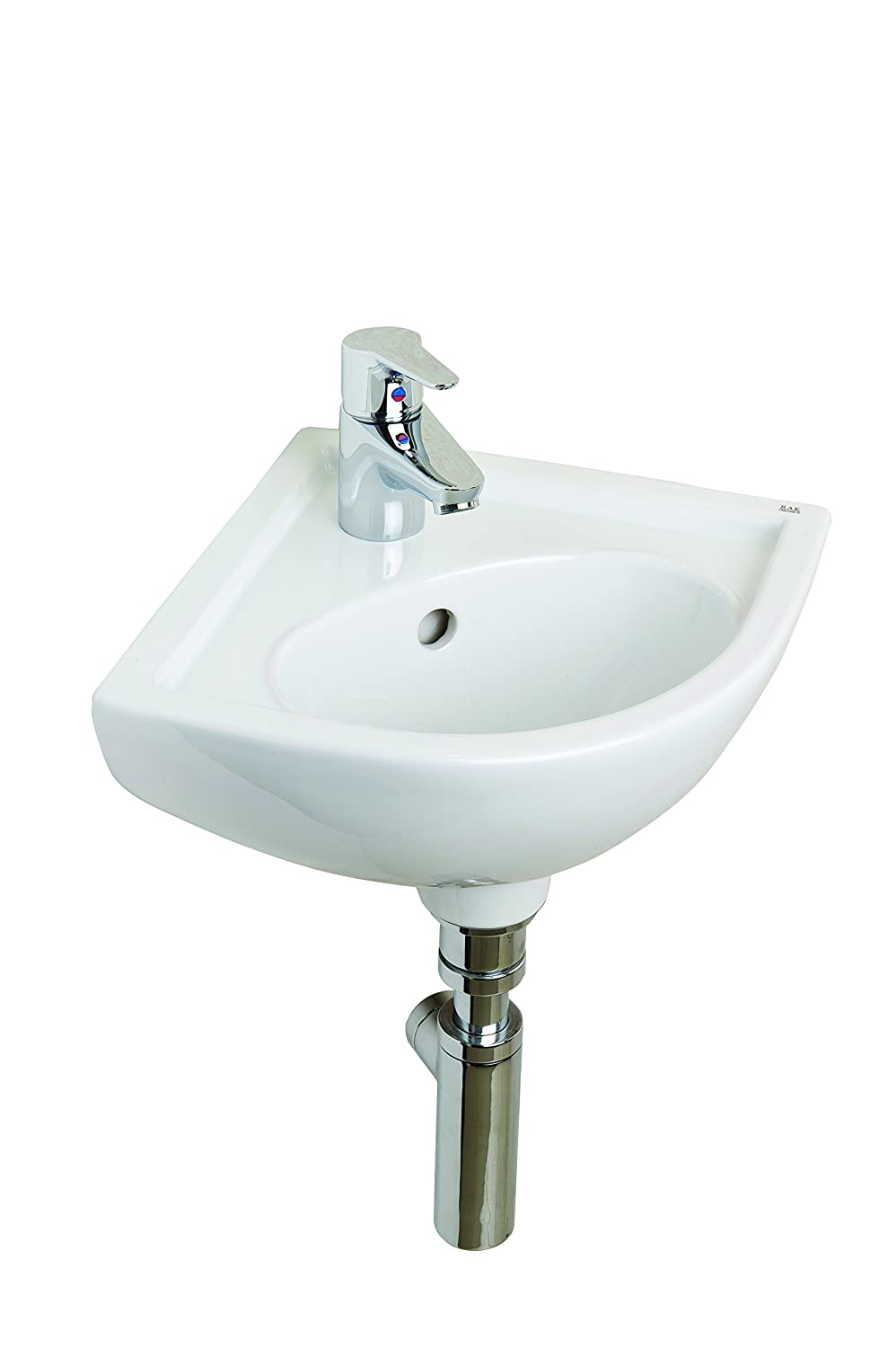 Rak Ceramics COMCNRB1 Compact Corner Basin 1th