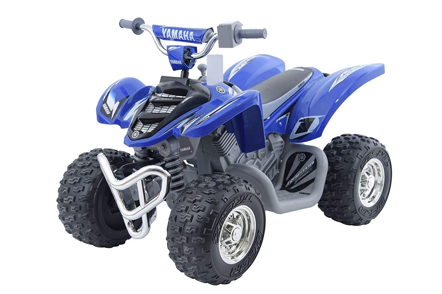 Yamaha Raptor Atv 12 Volt Battery Powered Ride On Blue Rhino Box Wiring Diagram Sports Outdoors