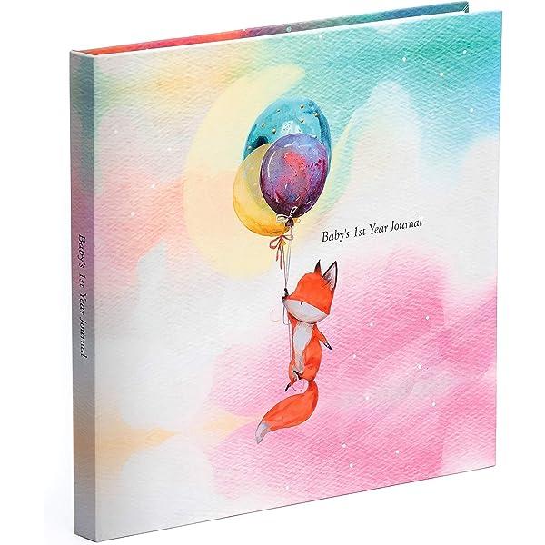 Baby First Year Journal Modern Memory Keepsake Book Photo Album For New Parents Track Baby S Milestones Girl Boy Neutral Gender Newborn Shower Gift Ideas 2018 Amazon Com Au Baby
