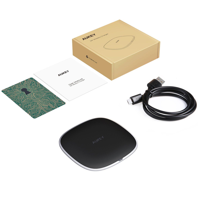 AUKEY Wireless Charger Cargador inalámbrico de Carga Pad ...