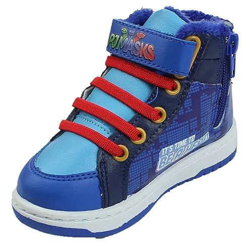 PJ Masks Superpigiamini - Zapatillas para niño Azul Size: 25