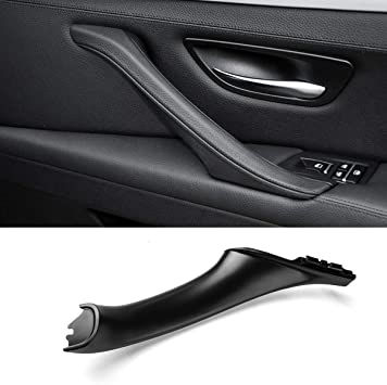 Amazon Com Jaronx Door Pull Handle For Bmw 5 Series F10 F11 Right Side Passenger Door Pull Handles Inner Door Handle For Bmw F10 F11 520 523 525 528 530 535 2010 2016 Leather Outer Cover Not Included Black Automotive