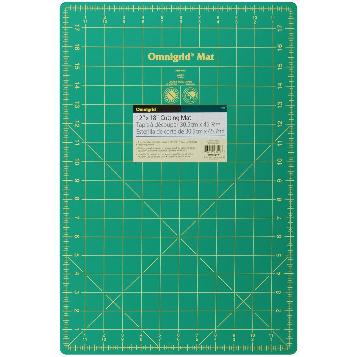 Dritz Omnigrid Gridded Mat, 12-Inch by 18-Inch 18WG