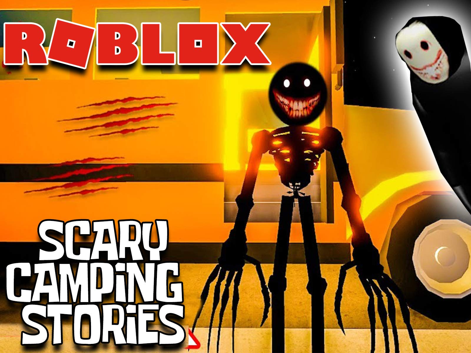 Watch Clip Roblox Scary Camping Stories Prime Video