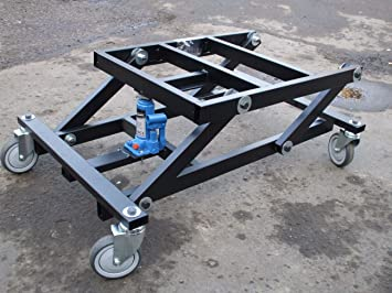 Universal Pool Table Trolley (Black)