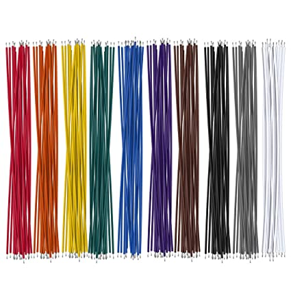 "10 Colors UL-1007 26AWG Wires Kit 200PCS . 6/"" 150mm"