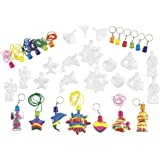 Colorations Sand Art Necklace & Key Chain Group Pack (Item # FILLRUP)