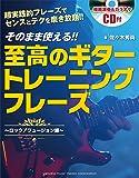 そのまま使える!! 至高のギタートレーニングフレーズ 【CD付】