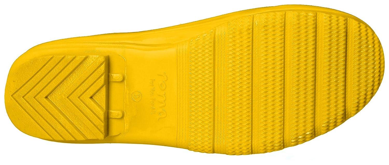 Roma Boots Women's Emma Classic Rain Boots B07193QMZN 8 B(M) US|Yellow