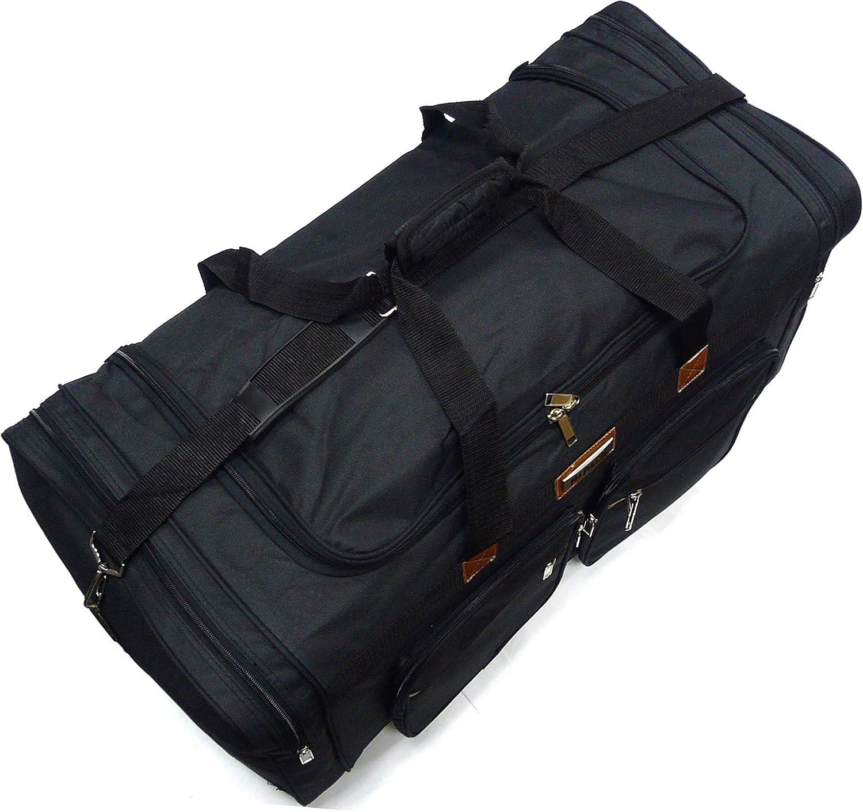 28 Heavy Duty Duffle Bag// Sports Travel Luggage// Tote Bag//Over Night Bag//Black