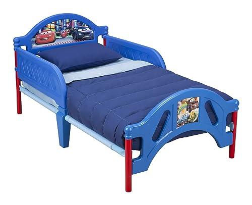 Delta Children Plastic Toddler Bed, Disney Pixar Cars