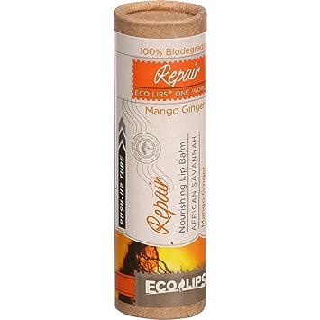 Eco Lips - One World Repair Nourishing Lip Balm Mango Ginger - 0.3 oz. Innisfree, Bija Trouble Facial Foam, 150 ml(pack of 12)