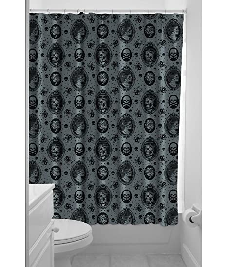 Sourpuss Zombie Cameo Shower Curtain