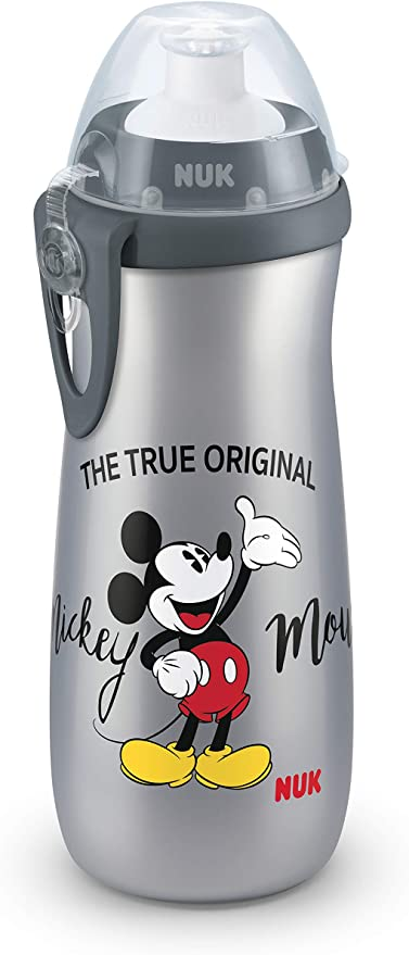 NUK 10255416 Disney Mickey Mouse Sports Cup, botella para niños a ...