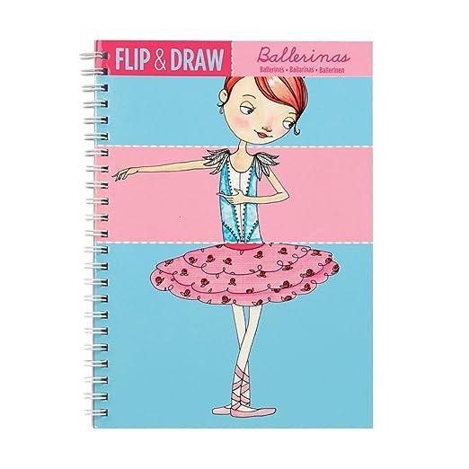 Amazon.com: Mudpuppy Ballerinas Flip and Draw: Mudpuppy, Tuesday Mourning: Toys & Games