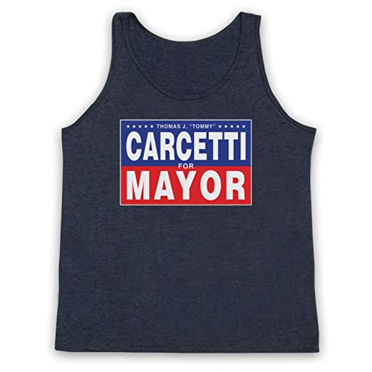 Inspired Apparel Inspiriert durch The Wire Carcetti for Mayor Inoffiziell  Tank-Top Weste: Amazon.de: Bekleidung