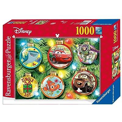 ravensburger disney pixar christmas puzzle 1000 piece - Ravensburger Christmas Puzzles