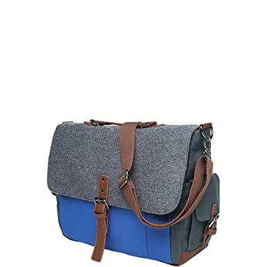 Amazon.com: Something Strong Men's SS706 Tri-Color Messenger Bag ...