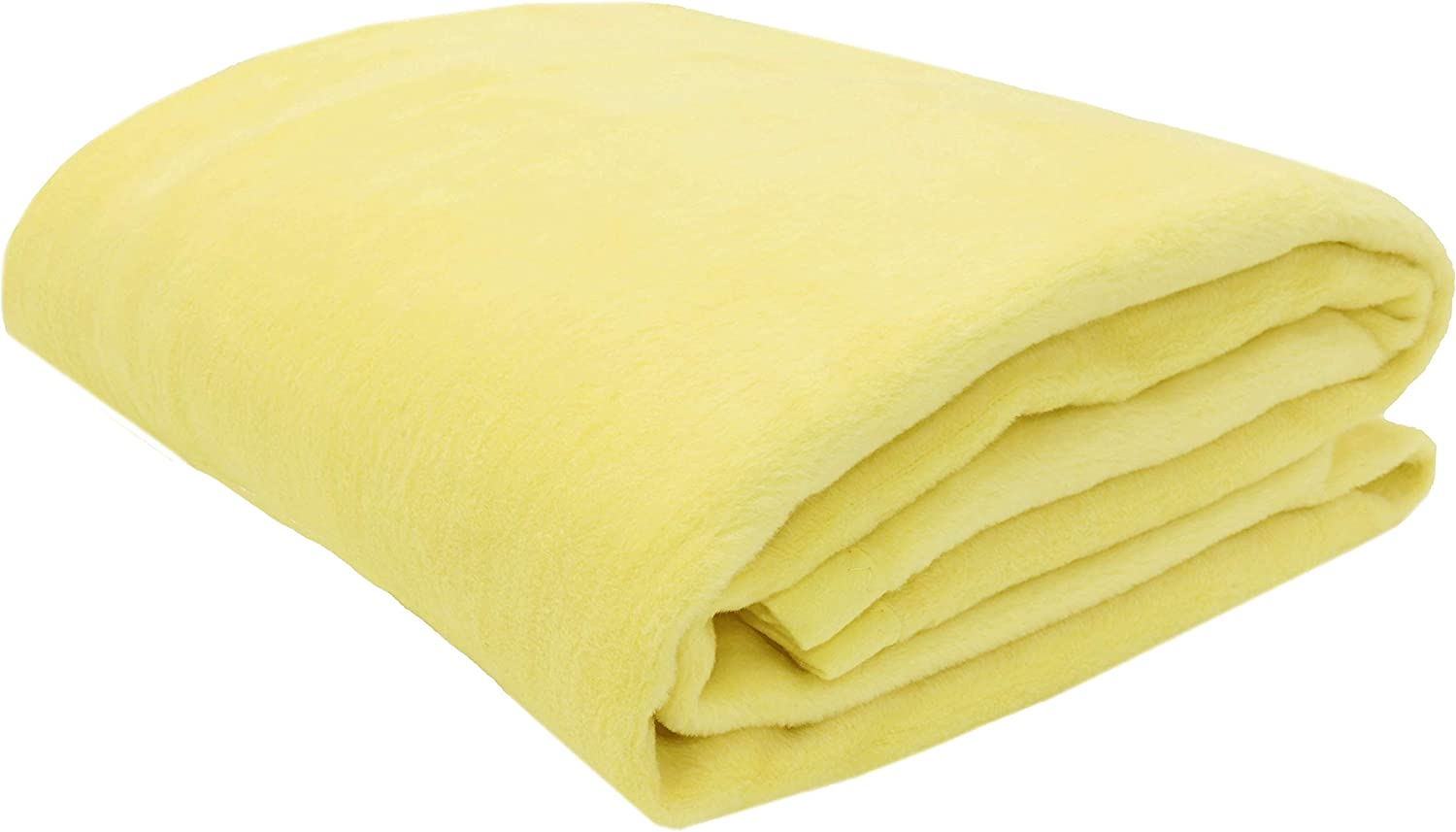 ZOLLNER Manta para Cama 90, Amarilla, 60% algodón, Medidas: Amazon ...