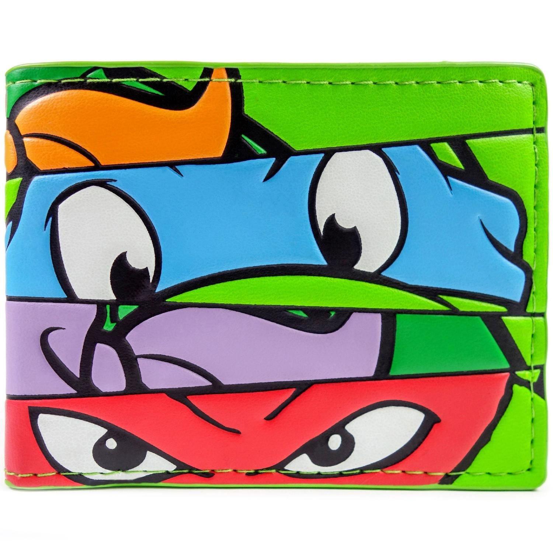 Cartera de Mirage Teenage Mutant Ninja Turtles Caras Verde ...