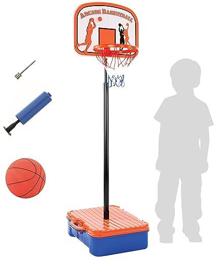 Amazon.com: Bundaloo juego de aro de baloncesto con funda de ...