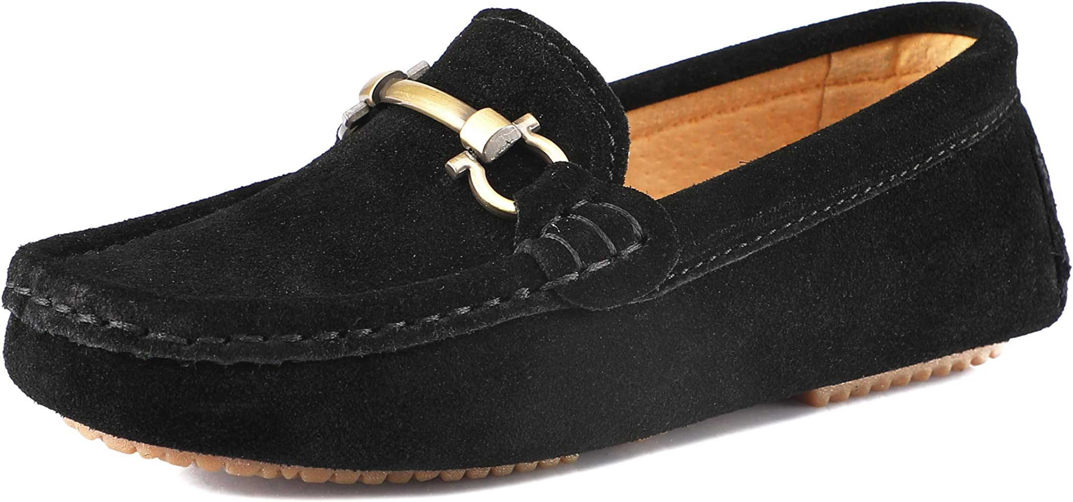 Suede Loafers Slip On Boat Shoes