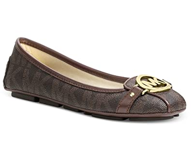 182379cd2 Image Unavailable. Image not available for. Color: Michael Michael Kors  Fulton Moc Signature Flats ...
