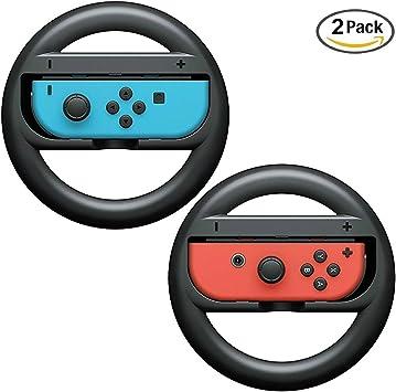 Volante para Nintendo Switch,niceEshop(TM) Volante Plástico ABS ...