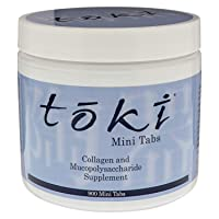 Lane Innovative - Toki Collagen Mini Tabs, Protein Powder for Skin, Collagen Peptides for Anti-Aging, Anti-Wrinkle Formula, Helps Visibly Reduce Age Spots, Peptides for Youthful Skin (900 Mini Tabs)