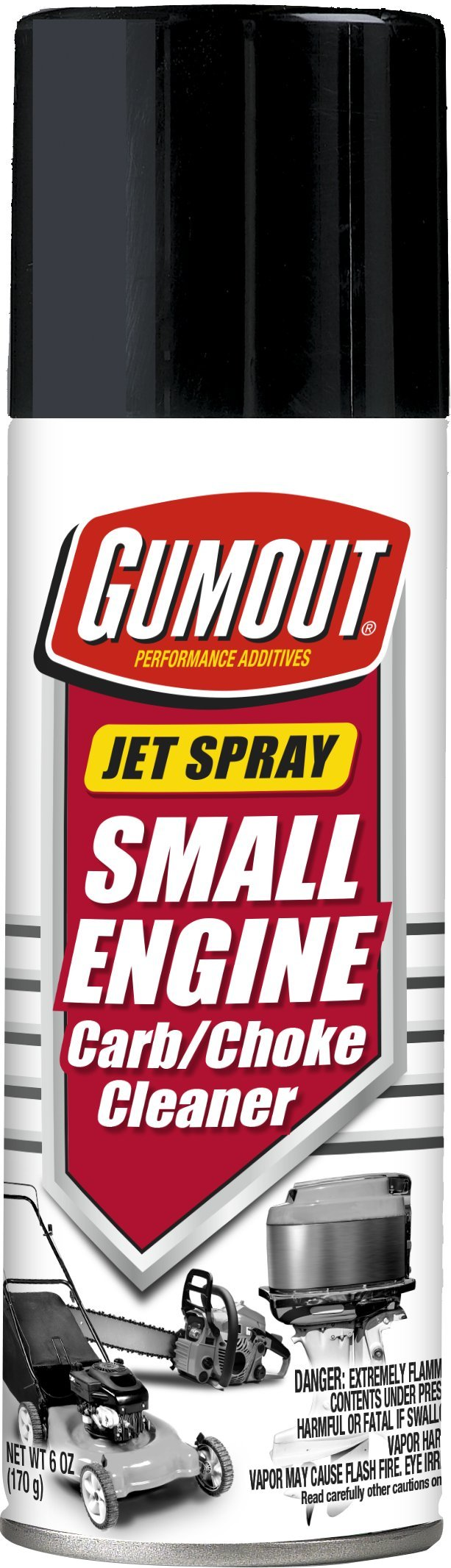 Gumout 800002241-12PK Small Engine Carb and Choke Cleaner, 6 oz. (Pack of 12)