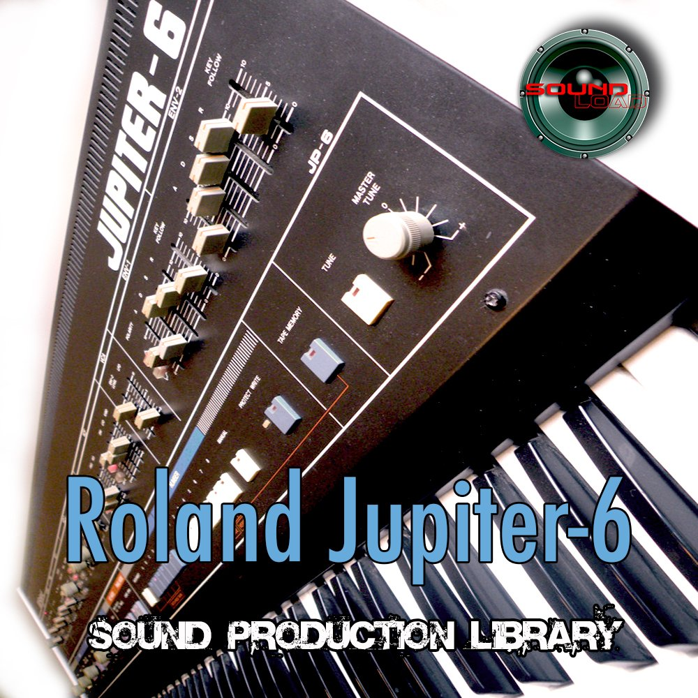 for Roland Jupiter 6 - Large Original WAVE/Kontakt Samples Studio Library on DVD or for download