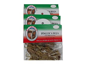 Pinguica Hoja / Uva Ursi Leaves Net Wt 1/2oz (14gr) set-