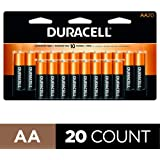 Duracell - CopperTop AA Alkaline Batteries - long lasting