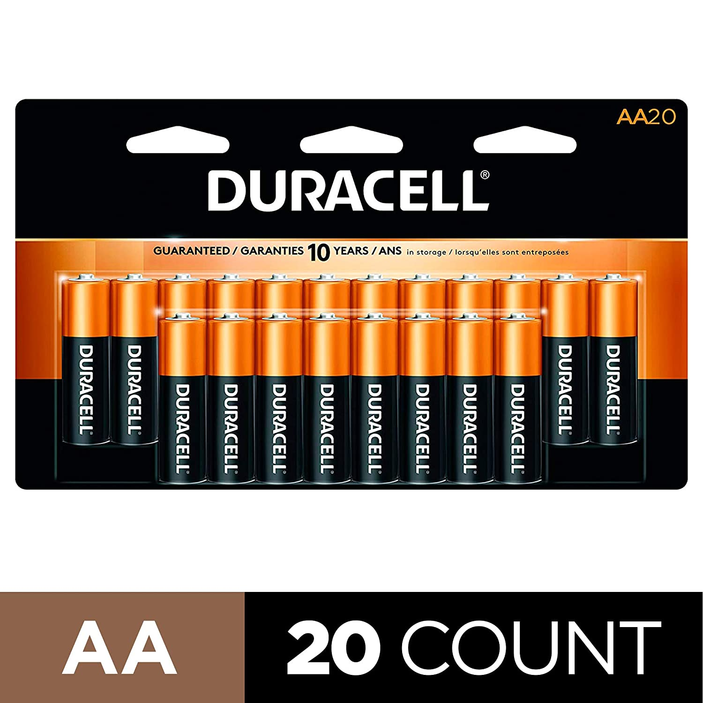 Duracell – CopperTop AA Alkaline Batteries For Smart Locks