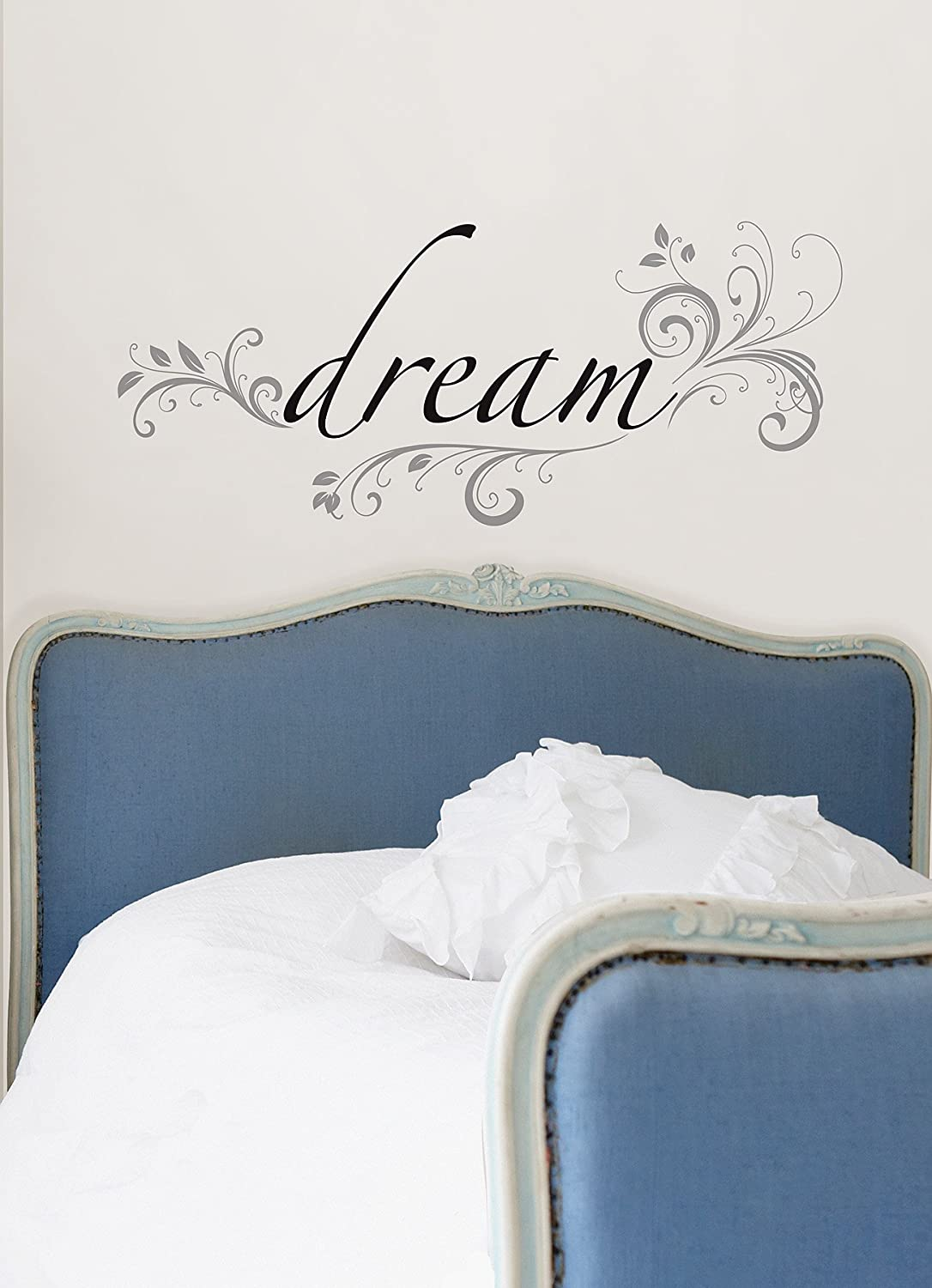 Wall pops wpq96852 peel stick dream quotes wall decals wall pops wpq96852 peel stick dream quotes wall decals decorative wall appliques amazon amipublicfo Images