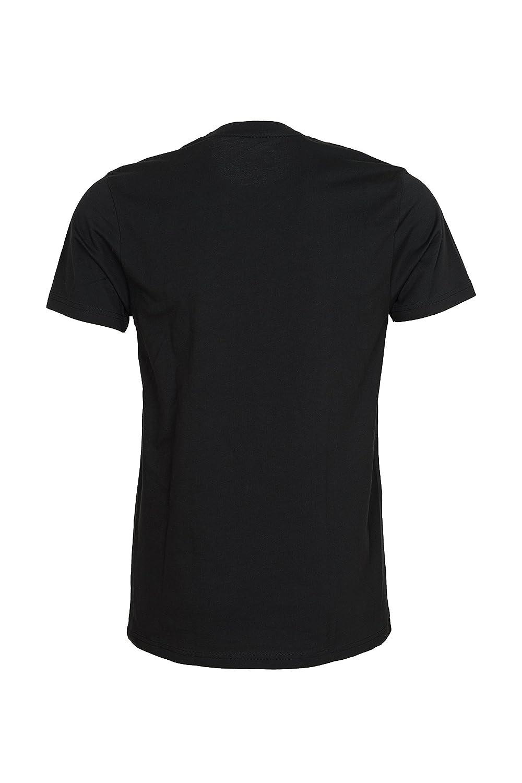 100/% Coton Col Rond Manches Courtes Maat Mons Lot DE 5 T-Shirt pour Hommes Ultra Confortable