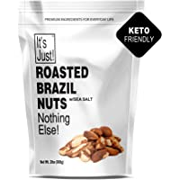It's Just - Brazil Nuts, Sea Salted, USA Roasted, Ready-to-Eat, Keto Friendly, 32oz