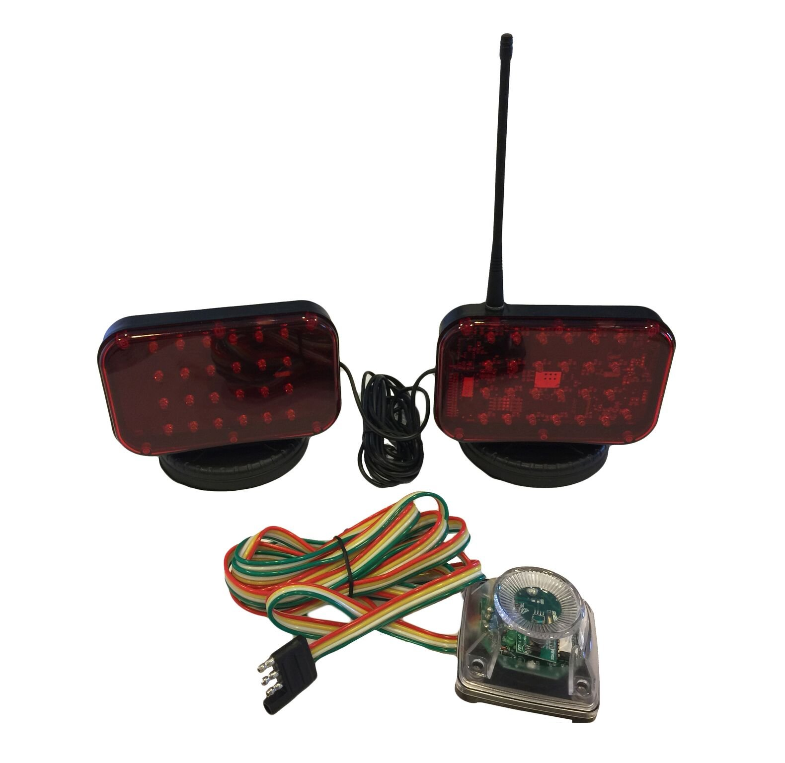 LED Wireless Magnetic Tow Lights (48 L.E.D.)